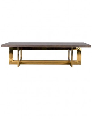 Modern Brown Dining Table