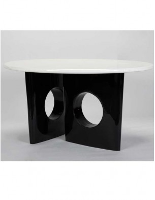 Gloss White Top Dining Table