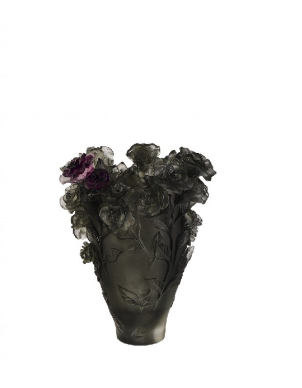 small size rose flower vase, colorful