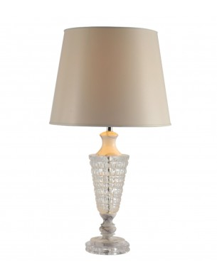 Marble Crystal Table Lamp