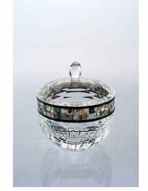 crystal candy with shell ,clear